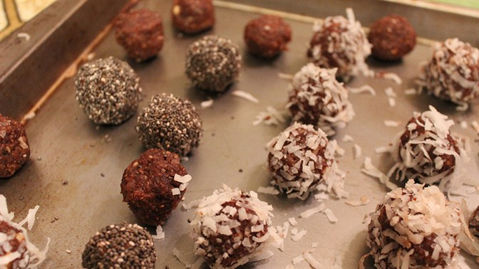 energy packed balls recipe