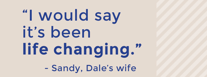 sandy, dale's wife quote