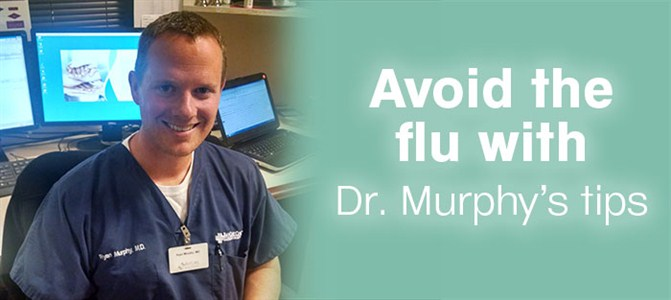 How do doctors prevent the flu?