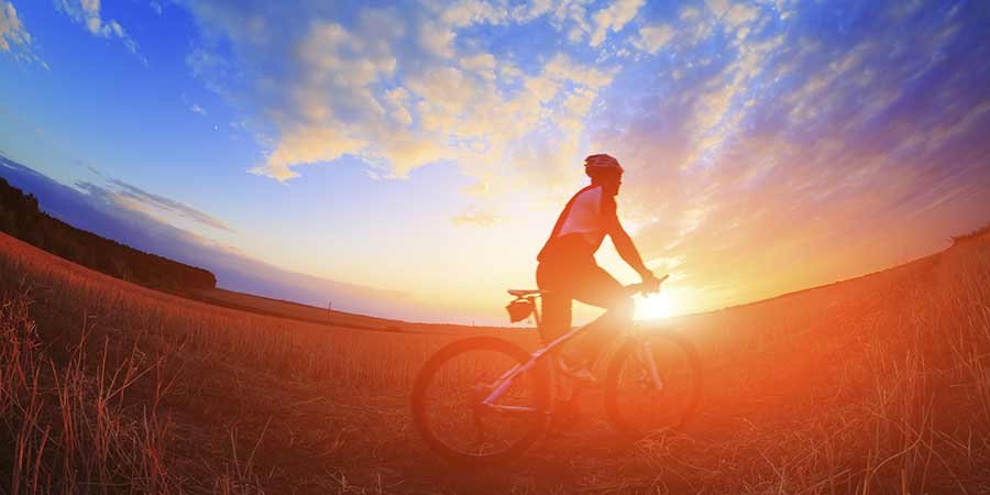 Cycling: Good for your body, good for your head