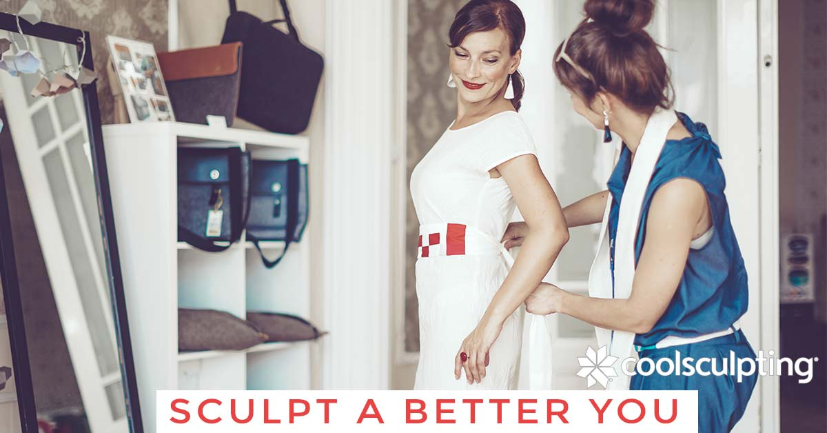 Trim trouble spots with CoolSculpting