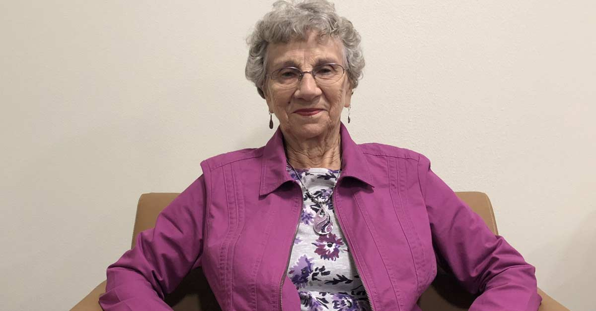 Betty's story: 'Normal again' after knee replacement
