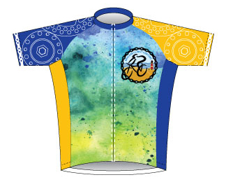 BayCare Clinic Century Ride Jersey Front