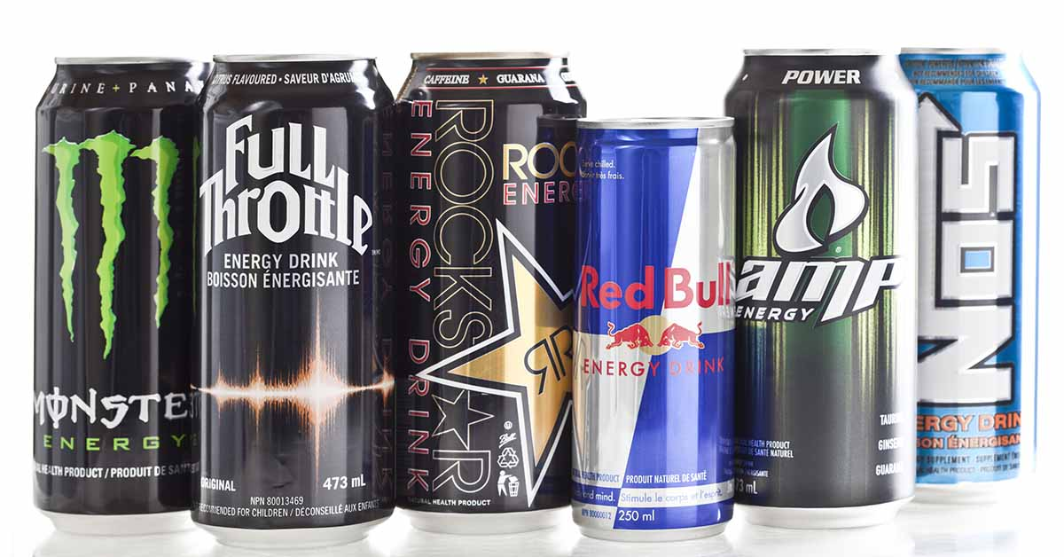 Energy Drink Brands may cause changes in heart rhythm