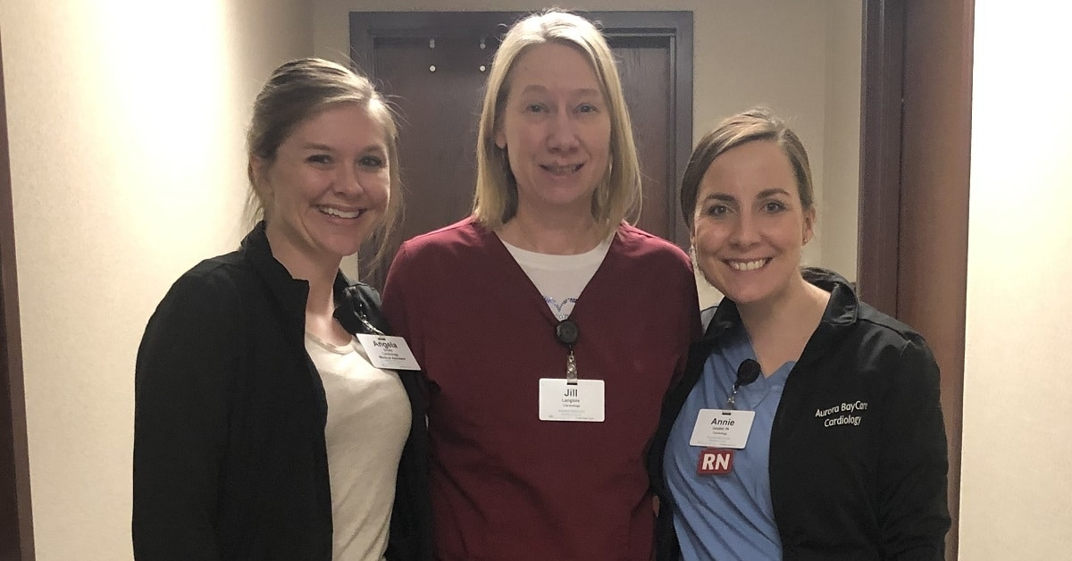 Healthier and happier: Cardiology staff's weight loss journey