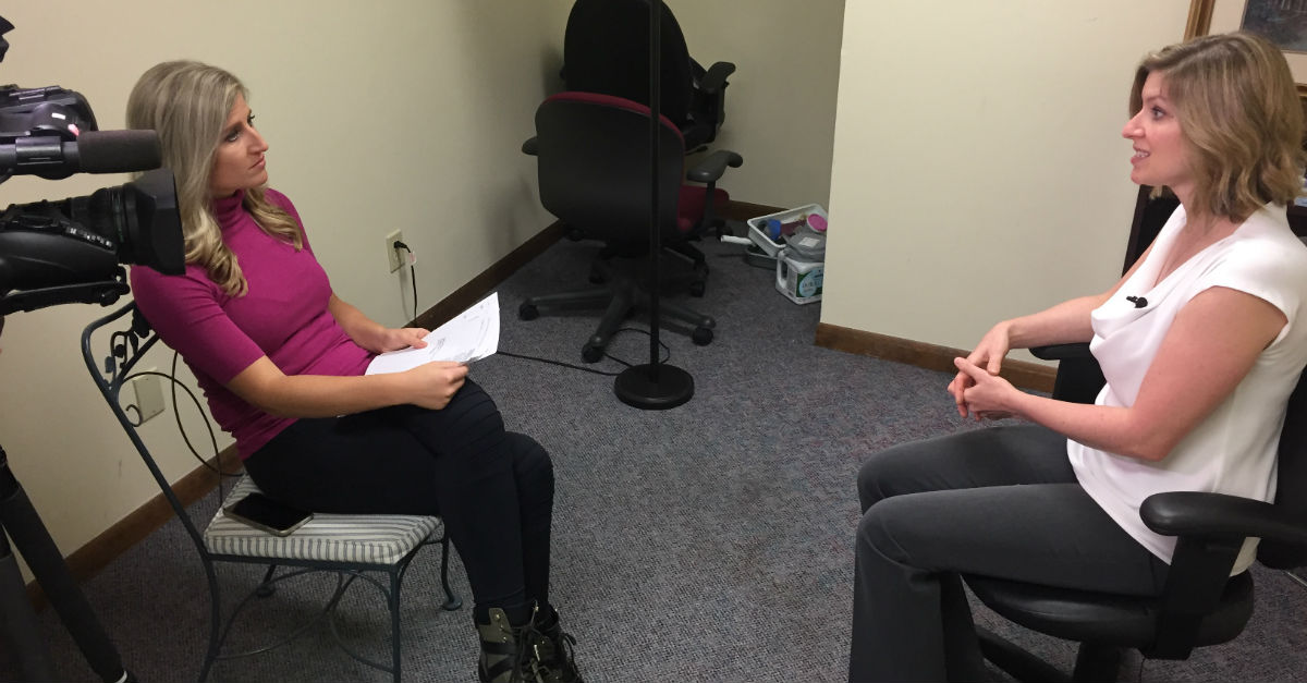 Dr. Elizabeth O'Connor of BayCare Clinic is interviewed by NBC 26 News about BRAs of the Bay.