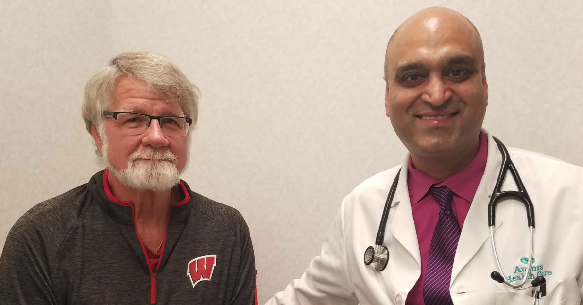 Mark's story: 'Doing great' after AFib treatment