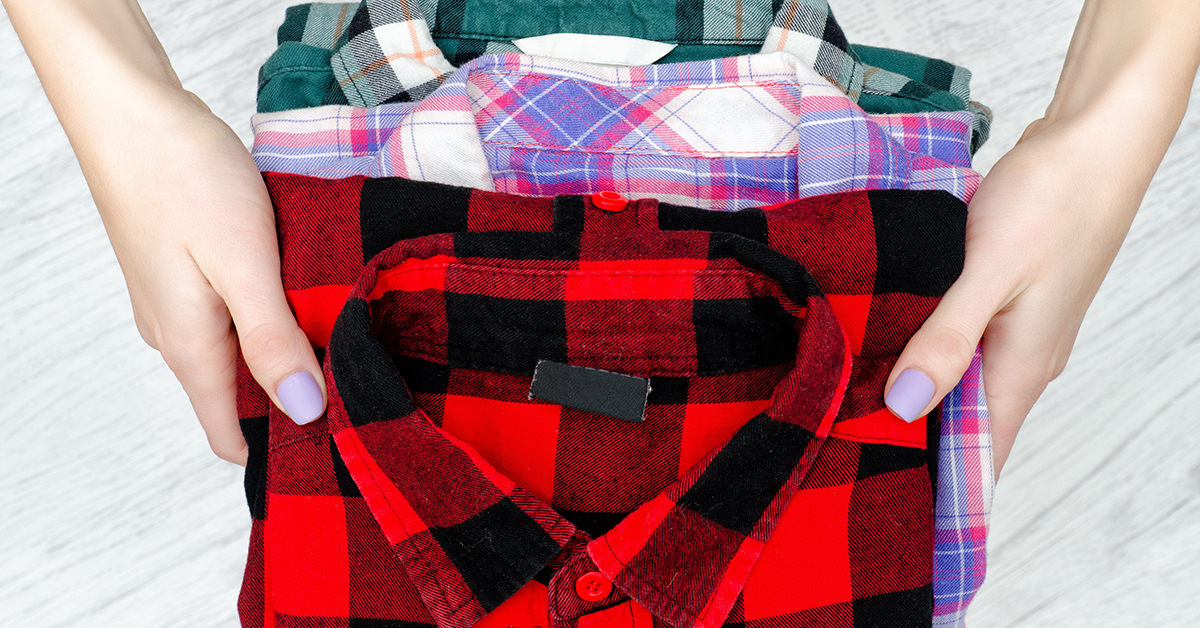 Flannel represents several causes all in one pattern