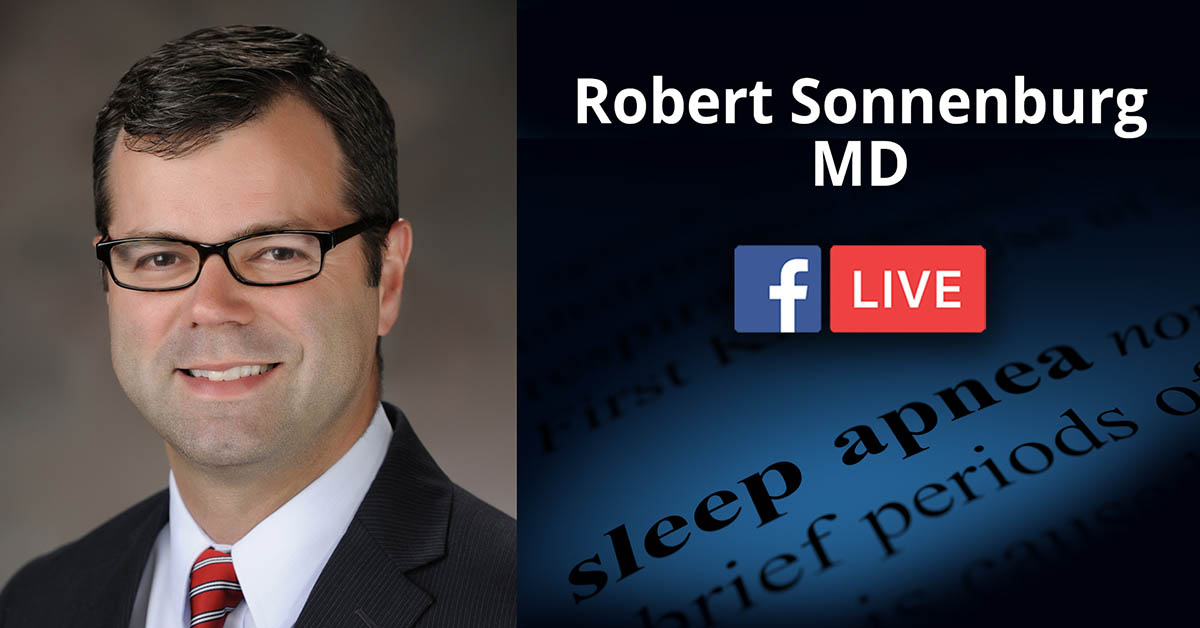 Facebook Live Q&A: Snoring and Sleep Disorders