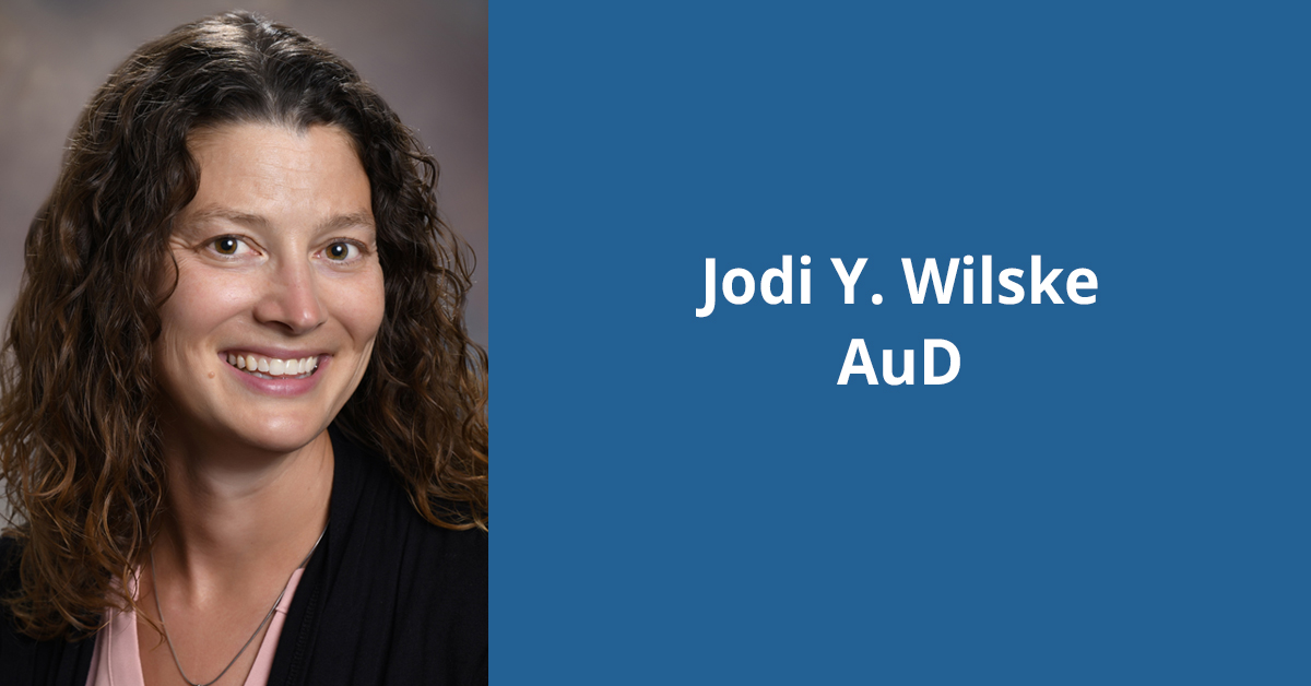 Headshot of Dr. Jodi Wilske, audiologist with BayCare Clinic