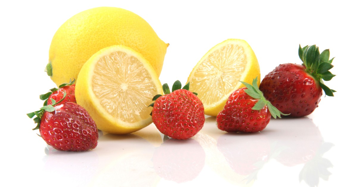 Strawberries and lemons
