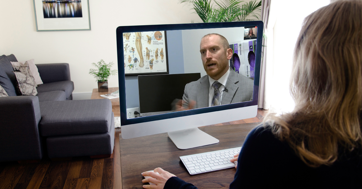 Orthopedics & Sports Medicine BayCare Clinic telemedicine visits available