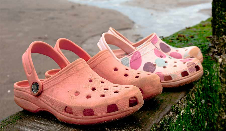 Wearing Crocs might be bad for your