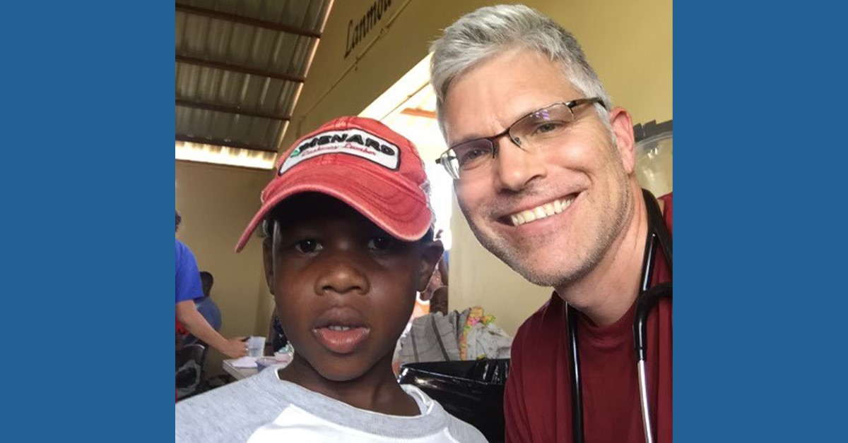 Dr. Cory Vogel of BayCare Clinic enjoys volunteering for medical mission trips to Haiti