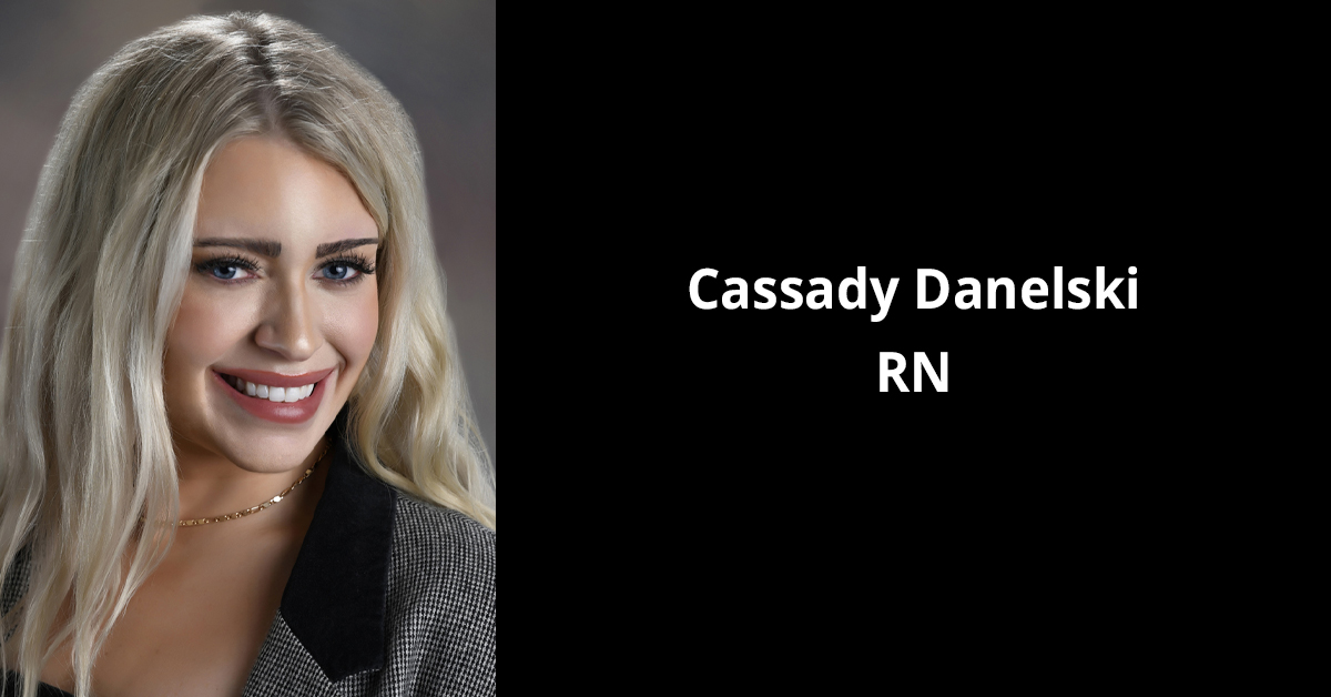 Headshot of Cassady Danelski, RN, Plastic Surgery & Skin Specialists by BayCare Clinic